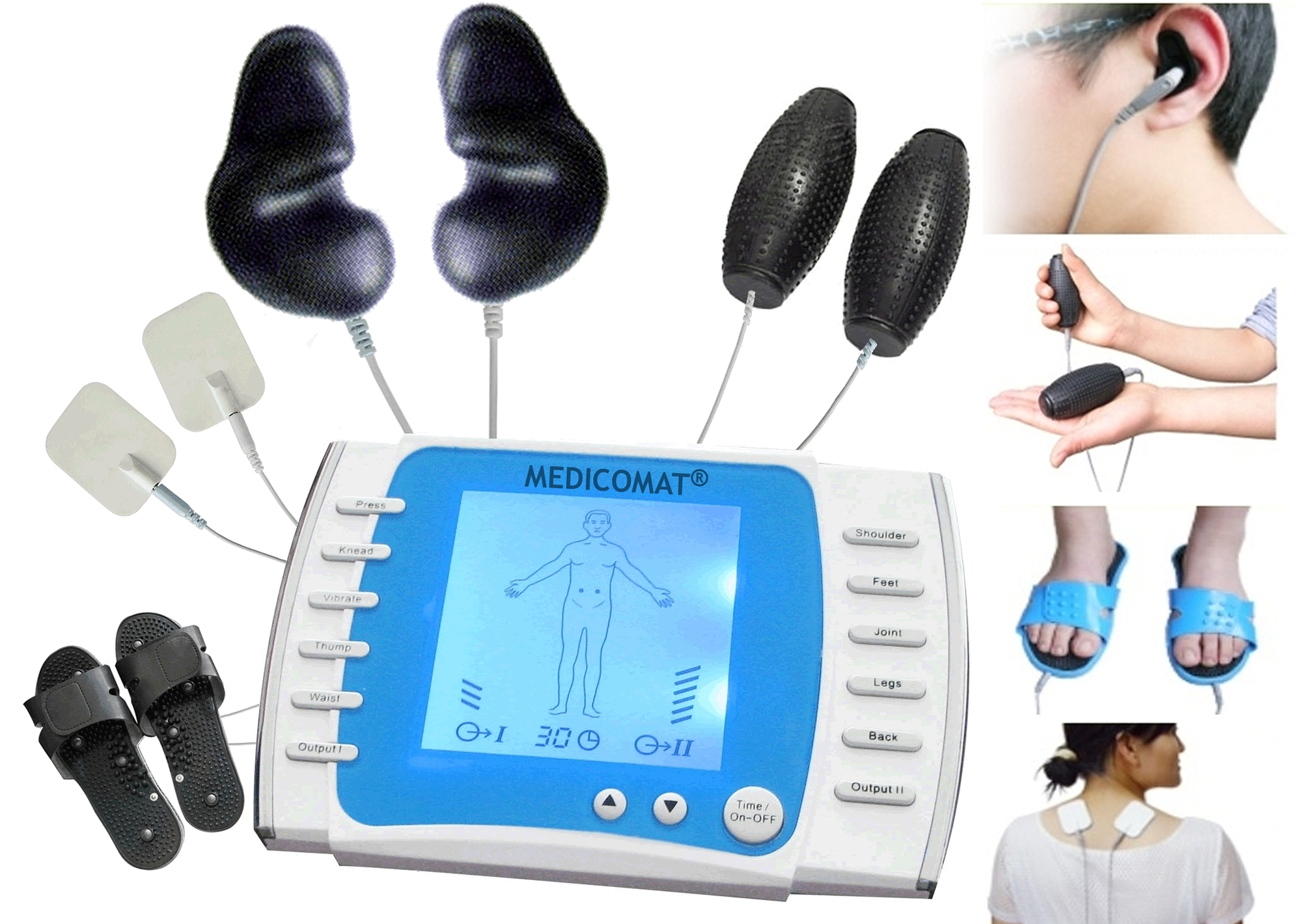 Colour therapy for sciatica - Acupuncture Treatment Device Medicomat 21 Fully Automatic Treatment At Home Pain Disease Relief Remove Fatigue Download Image Colour Therapy